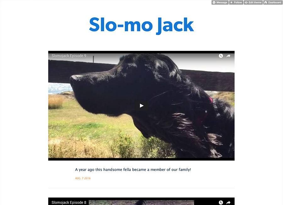 Slo-mo Jack screenshot